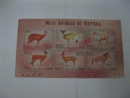 Eritrea 2001 Wild Animals Sheetlet 1  SC#351 - Eritrea