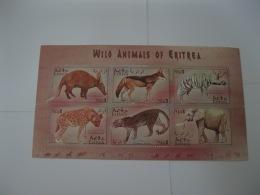 Eritrea 2001 Wild Animals Sheetlet 2  SC#352 - Eritrea
