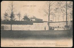 ANVERS EN 1860 - PORTE KIPDORP REMPARTS PRIMITIFE ACTUELLEMENT RUE VAN ERTBORN - Antwerpen