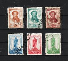 1937 -  Centenaire A.S.Pouchkine Mi No 549/554 - 1923-1991 USSR