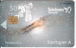 SLOVENIA SLOVENIJA PHONECARD 2009 KENTAVER CANTAUR A LETO ASTONOMIJE INTERNATIONAL YEAR ASTRONOMY TELEKOM CAT.NO. 756 - Slovenia