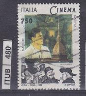 ITALIA REPUBBLICA 1996Cinema Italiano Cabiria  Usato - 1946-.. Republiek