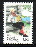 FINLANDE. N°1048 Oblitéré De 1989. Norden/Costume/Accordéon. - Gezamelijke Uitgaven