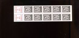 Belgie 1970 B4 Kaft Normale Richting + V5 Knoop Onder Epaulet Z9 RR Carnet 4 Marchand MNH Varieteit Luppi/OCB - Postzegelboekjes 1953-....