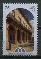 Cuba 2018 / Segundo Cabo Palace MNH Palacio / Cu8838  C3 - Cuba