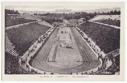 GREECE ATHENS, SPECTATOR CROWD AT PANATHENAIC STADIUM  C1910s Vintage Postcard - Greece