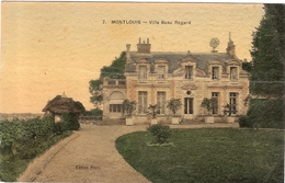 CPA Montlouis Villa Beau Regard  37 Indre Et Loire - Sonstige Gemeinden