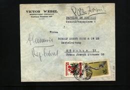 Uruguay Interesting Airmail Letter - Uruguay
