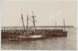 Bateaux De Pêche à Boulogne-sur-Mer . Citrate Circa 1900 . - Boats