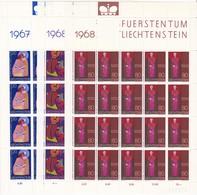 Liechtenstein, Kleinbogen Nr. 486/94**  (K 3471) - Bloques & Hojas
