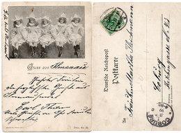 Gruss Aus : ILMANAIN - Jeunes Filles Déguisées - Incunable : 1899 (108727) - Voor 1900