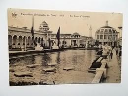 GENT- WERELDTENTOONSTELLING 1913 - La Cour D'Honneur, Exposition Universelle-- NO  REPRO - Gent