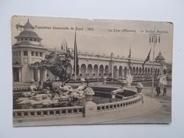 GENT- WERELDTENTOONSTELLING 1913 - La Cour D'Honneur, La Section Anglaise -- NO  REPRO - Gent