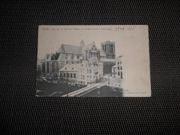 Gand - Gent  :   Vue Sur Le Pont Et L'Eglise St. Michel - Gent