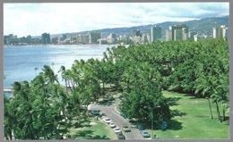 PC  Hawaii Island, Hononulu, Kapiolani Park And  Waikiki . Unused - Honolulu