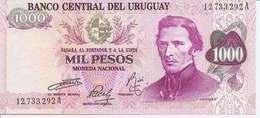 Uruguay  P-113  1000 Pesos   1974  UNC - Uruguay