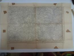 Carte Topographique Laval 50 Manche Type 1889 Juin 1941 - Topographical Maps