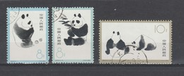 Chine 1963    N° 1493 / 95  Oblitéré = 3 Valeurs  ~ Panda - Used Stamps