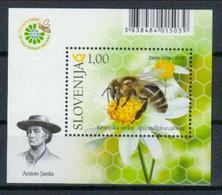 Slowenien Block 'Weltbienentag' / Slovenia M/s 'World Bee Day' **/MNH 2018 - Abeilles