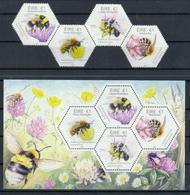 Irland 'In Irland Heimische Bienen' / Ireland 'Native Irish Bees' **/MNH 2018 - Abeilles