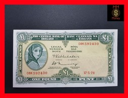 Ireland 1 £ 1974 P. 64 XF - Irlanda