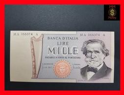 Italy 1.000 1000 Lire 1969 P. 101a UNC - [ 2] 1946-… : Repubblica