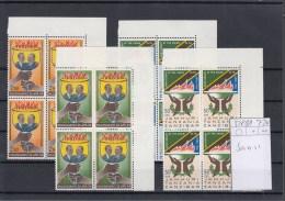 Sansibar Michel Cat.No. Mnh/** 328/331 As Blocs Of Four - Zanzibar (1963-1968)