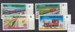 Tanzania Michel Cat.No. Mnh/** 62/65 - Tanzania (1964-...)