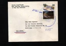 Dominican Republic Interesting Airmail  Letter - Dominican Republic