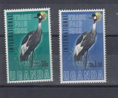Uganda Michel Cat.No. Mnh/** 85/86 Birds - Uganda (1962-...)