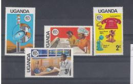 Uganda Michel Cat.No. Mnh/** 137/140 - Uganda (1962-...)