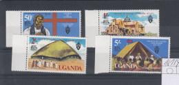 Uganda Michel Cat.No. Mnh/** 161/164 - Uganda (1962-...)