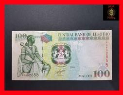 Lesotho  100 Maloti 2009 P. 19e UNC - Lesoto