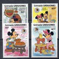 GRENADE - GRENADINES  Timbres Neufs ** De 1985 ( Ref 5550 )  Disney - Mickey - Frères Grimm - Grenada (1974-...)