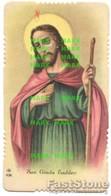Santino Antico Fustellato SAN GIUDA TADDEO (marcato NG 498) - OTTIMO P68 - Religione & Esoterismo