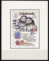 CSSR, 1979, 2493 Block 39 A, MNH **. Kosmonauten - Blocs-feuillets