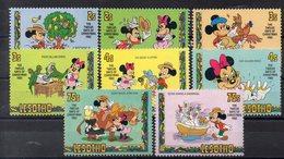 LESOTHO  Timbres Neufs ** De 1982 ( Ref 5551 )  Disney - Mickey Noël - Lesotho (1966-...)