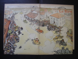 1901 LE RIRE Journal De Dessins Satiriques N° 349 Du 13 Juillet - Books, Magazines, Comics