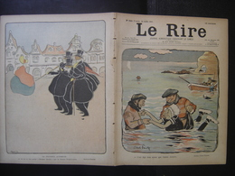 1901 LE RIRE Journal De Dessins Satiriques N° 350 Du 20 Juillet - Books, Magazines, Comics