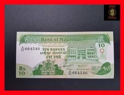 Mauritius  10 Rupees 1985 P. 35 UNC - Maurice