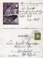 Gruss Aus  Femme Et Barque - Wasserrose      - Incunable 1898 (108748) - Illustratoren & Fotografen