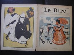 1901 LE RIRE Journal De Dessins Satiriques N° 351 Du 27 Juillet - Books, Magazines, Comics