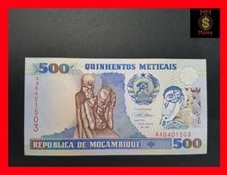 Mozambique  500 Meticais 1991 P. 134 UNC - Mozambique