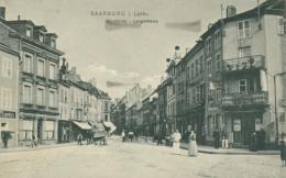 57 SARREBOURG  / Langestrasse   Marktplatz  / - Sarrebourg