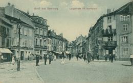 57 SARREBOURG  / Langestrasse Mit Marktplatz / - Sarrebourg
