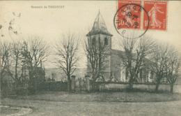 57  THICOURT  / L'église / CARTE RARE - Autres Communes