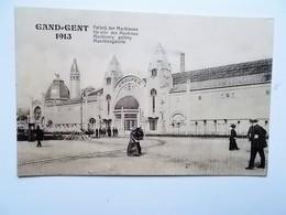 GENT- WERELDTENTOONSTELLING 1913 - Galerij Der Machienen, Galerie Des Machines  -ANIMATIE -  NO REPRO - Gent