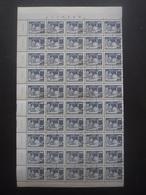 ALLEMAGNE DDR N°2304 En Bloc De 50 Oblitéré Cote 30€ - Collections (sans Albums)