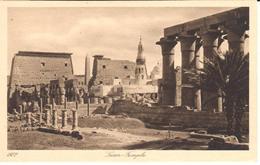 POSTAL   LUXOR  -EGIPTO  - TEMPLO - Luxor