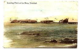 TRINIDAD Loading Pitch At La Brea - Very Old Postcard Davidson  Todd éditeur - Trinidad